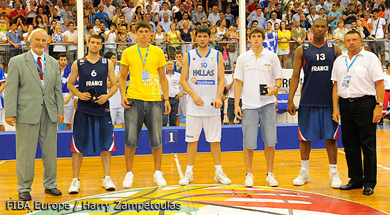 All Tournament Team U20 European Championship Men 2009